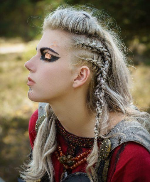 Viking look